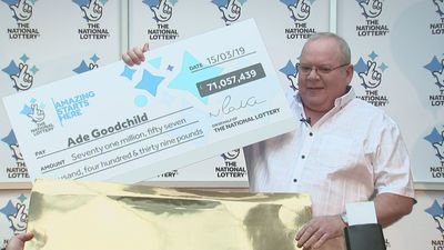 EuroMillions winner to spend money on his family