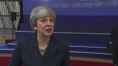 May: 'I sincerely hope' UK leaves EU with Brexit deal