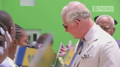 Charles and Camilla visit St Vincent and the Grenadines