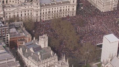 One Million March for People's Vote on Brexit