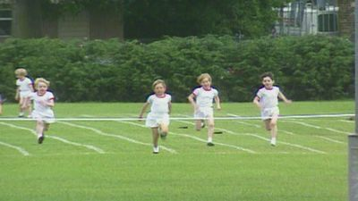 Royal Baby Countdown: Prince Harry's school sports day