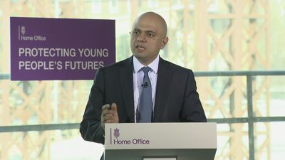Javid: Knife crime must be treated like disease outbreak