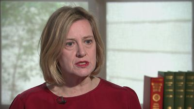 Amber Rudd: Notre-Dame fire 'a shocking sight'