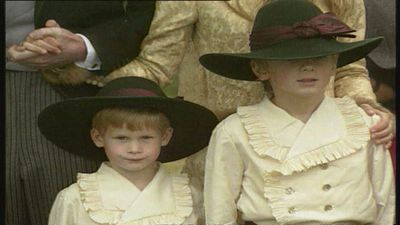 Royal Baby Countdown: Prince Harry's page boy outfit