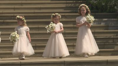 Royal family gathers for wedding of Lady Gabriella Windsor