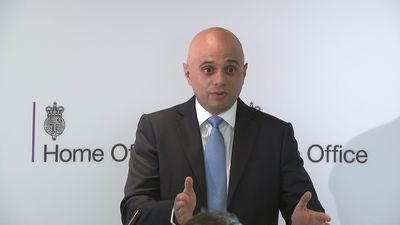 Javid on leadership bid: 'You'll just have to wait and see'