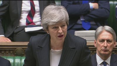 Theresa May delivers statement to MPs on new Brexit deal