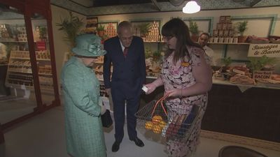 Queen describes Bloater Paste as 'disgusting'