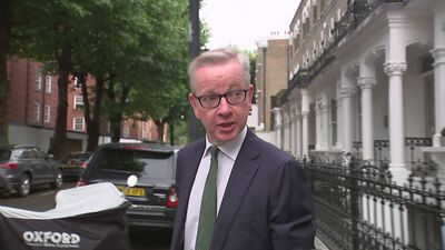 Michael Gove avoids question on cocaine use