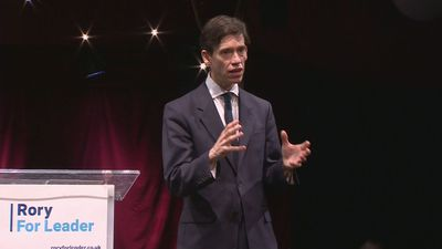 Rory Stewart launches his Tory leadership campaign