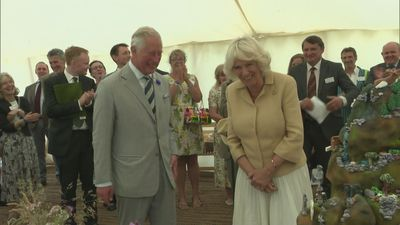 Duchess of Cornwall celebrates birthday at Exmoor Big Picnic