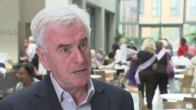 John McDonnell urges UK government to start talks with Iran