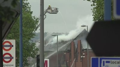 Over 150 firefighters tackle major blaze in Walthamstow