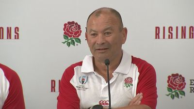Eddie Jones discusses England World Cup squad at presser