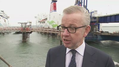 Gove: Stockpiling for no-deal Brexit is 'counterproductive'