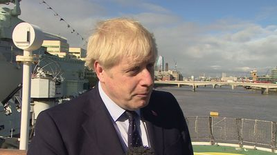 Boris Johnson denies lying to the Queen