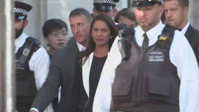 Gina Miller arrives at the Supreme Court
