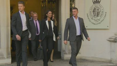 Gina Miller leaves the Supreme Court