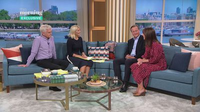David Cameron talks about memoirs on This Morning