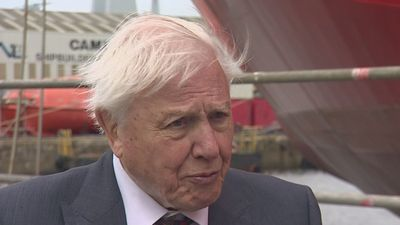 Attenborough: Huge change in awareness of global warming