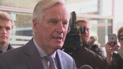 Michel Barnier: Meeting with Steve Barclay 'constructive'