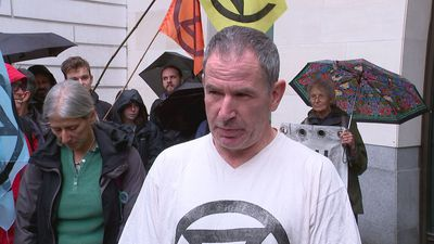 Former Paralympian denies climate protest charges
