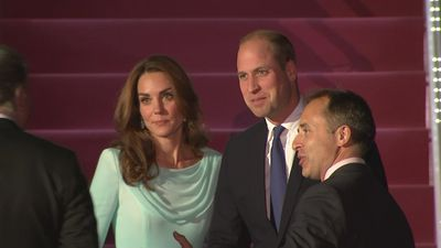 Duke and Duchess of Cambridge arrive in Pakistan