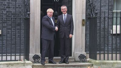 Boris Johnson meets NATO Secretary General