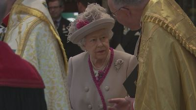Queen and Camilla mark 750 years of Westminster Abbey