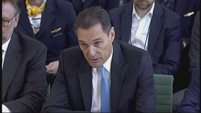 Ex-Thomas Cook boss 'deeply sorry' for firm's collapse