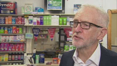 Corbyn: Labour will scrap prescription fees in England