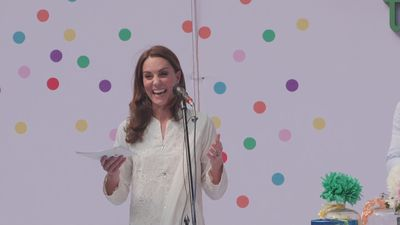 Duchess of Cambridge speaks Urdu