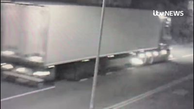 CCTV videos show lorry on road before discovery of bodies
