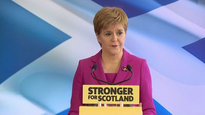 Sturgeon: Let's show Boris Johnson exactly what we think