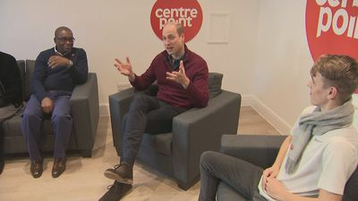 Prince William celebrates 50th anniversary of Centrepoint