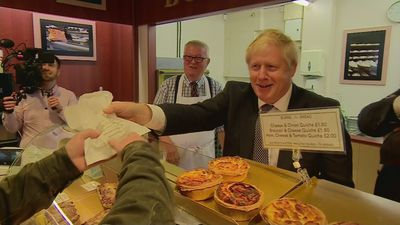 PM serves up pasties on visit to Wells