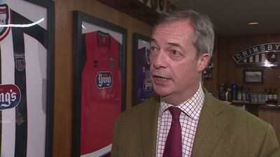 Farage: I will be staying home on the 12th December