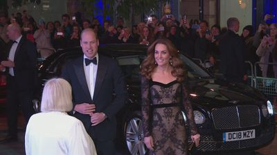 William and Kate attend the Royal Variety Performance