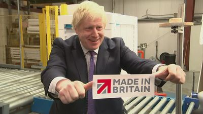 PM puts finishing touches on machines on factory visit