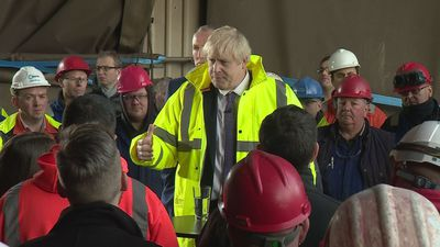 PM answers questions from Teeside workers