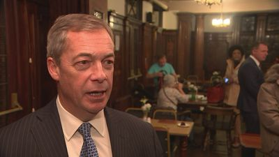 Farage: Tory party behaving as though it's above law