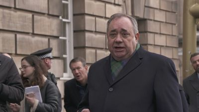 Alex Salmond pleads innocence outside High Court