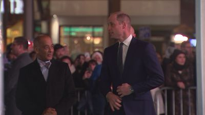 Prince William arrives at Tusk Conservation Awards