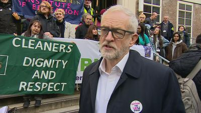 Jeremy Corbyn rules out US role in NHS