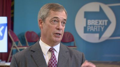 Nigel Farage on Trump visit and the NHS