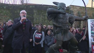Corbyn: Robin Hood 'has the right idea'