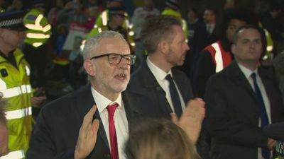Corbyn addresses supporters ahead of BBC debate