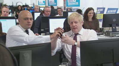 Boris Johnson and Sajid Javid hit the phones
