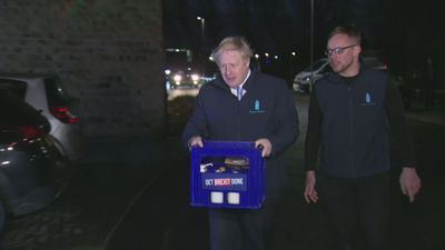 PM helps deliver milk in West Yorkshire