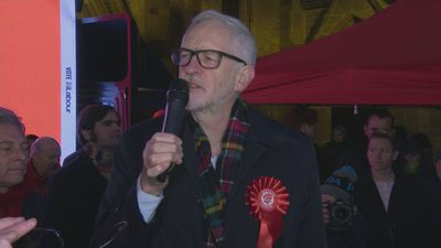 Corbyn: Vote Labour rather than 'despair and dishonesty'